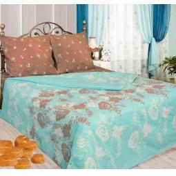 фото Комплект постельного белья Сова и Жаворонок «Карамель». Семейный. Размер наволочки: 50х70 см — 2 шт
