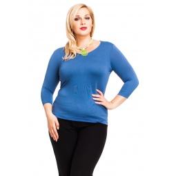 фото Кофта Mondigo XL 023. Цвет: джинсовый. Размер одежды: 50
