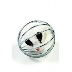 фото Игрушка для кошек Beeztees 425021 «Мышь в металлическом шаре». В ассортименте