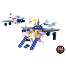 фото Набор игровой для мальчика Пламенный Мотор «Трансформер. Самолет - Аэропорт»