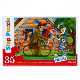 фото Пазл 35 элементов Step Puzzle Maxi. Простоквашино