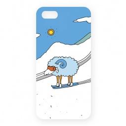 фото Чехол для iPhone 5 Mitya Veselkov «Овечка в горах»