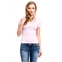 фото Футболка Mondigo 490. Цвет: бледно-розовый. Размер одежды: 42