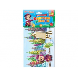 фото Игра обучающая Vladi Toys с наклейками «Картина маслом»