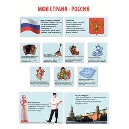 Купить Моя страна-Россия. Плакат