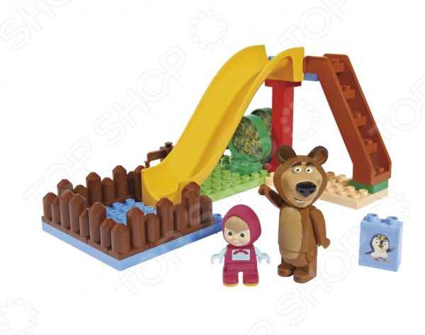 Конструктор игровой BIG «Бассейн» big big конструктор маша и медведь бассейн 29 деталей