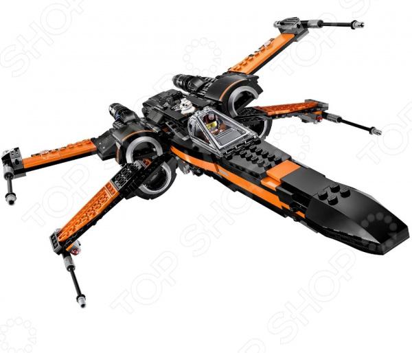 Конструктор для мальчика LEGO «Истребитель По»Конструкторы LEGO<br>Не секрет, что конструкторы LEGO являются одними из самых популярных и продаваемых игрушек в мире. Компания LEGO Group начала свое существование еще 1932 году и до сих пор не сдает лидирующих позиций, ежедневно расширяя свое производство и сферу деятельности. Конструкторы этого бренда отличаются великолепным качеством исполнения и большим разнообразием игровых сюжетов. Конструктор для мальчика Lego Истребитель По станет отличным подарком для вашего любимого чада и прекрасным дополнением к коллекции уже имеющихся игрушек LEGO. На этот раз малышу предоставится уникальная возможность побывать на борту звездного истребителя и сразиться с силами Первого Порядка. Рекомендовано для детей в возрасте от 8-ми лет.<br>
