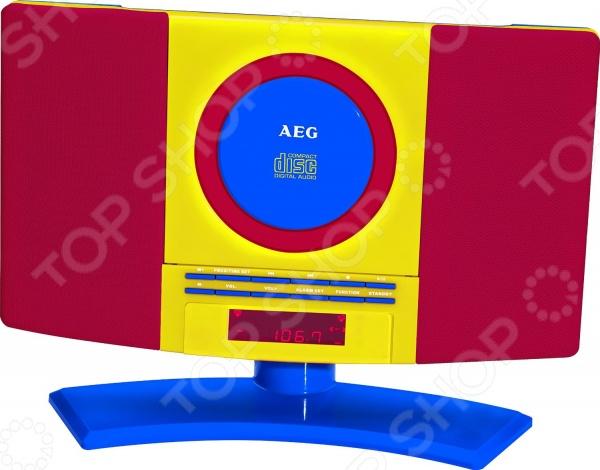 Микросистема AEG MC 4464 микросистема aeg mc 4463 cd black