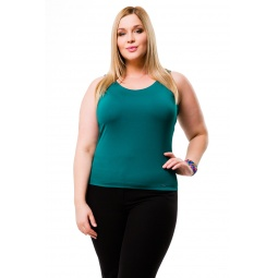 фото Майка Mondigo XL 335. Цвет: темно-зеленый. Размер одежды: 48
