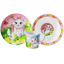 Купить Набор детской посуды Viconte VC-1203 «Кошечка»