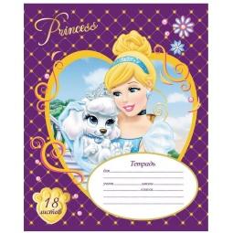 Купить Тетрадь в линейку Росмэн Disney «Принцессы» 22602. В ассортименте