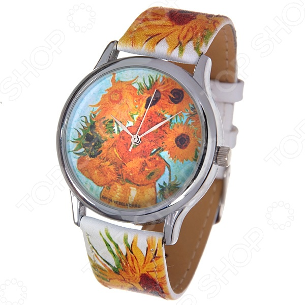 Часы наручные Mitya Veselkov «Подсолнухи Ван Гога» ART визитницы mitya veselkov визитница подсолнухи ван гога