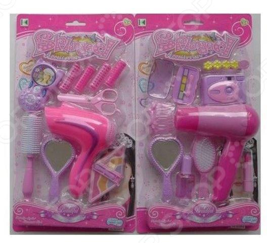 Игровой набор для девочки «Набор парикмахера» 1707353. В ассортименте    /