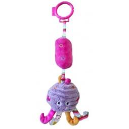 фото Игрушка подвесная Жирафики «Осьминожка с колокольчиком»