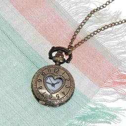 Купить Кулон-часы Mitya Veselkov «Медальон с сердцем»