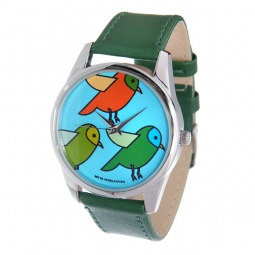 фото Часы наручные Mitya Veselkov «Три птички»