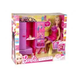 фото Набор: кукла и комплект мебели Mattel. В ассортименте