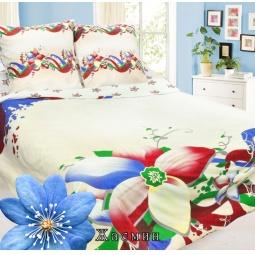 фото Комплект постельного белья Сова и Жаворонок «Жасмин». 2-спальный. Тип ткани: бязь-премиум