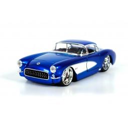 фото Модель автомобиля 1:24 Jada Toys Chevy Corvette 1957. Цвет: синий