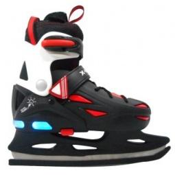 фото Коньки хоккейные X-MATCH с подсветкой