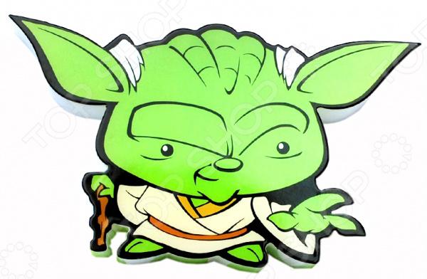 Пробивной светильник 3DlightFX Star Wars Yoda 50019120Ночники<br>Пробивной светильник 3DlightFX Star Wars Yoda 50019120 это изящный и стильный элемент интерьера детской комнаты. Представленная модель создает рассеянный, мягкий свет и поможет тем молодым родителям, чьи маленькие дети еще боятся темноты. Пробивной светильник 3DlightFX Star Wars Yoda 50019120 изготовлен из пластика и выполнен в виде одного из персонажей всемирно-известной саги Звездные войны . Он обязательно понравится ребенку и привнесет в его комнату атмосферу невероятный космических приключений. Благодаря особенностям конструкции, светильник долговечен и не нагревается, поэтому до него можно дотронуться в любой момент. Ночник выключается автоматически через 30 минут непрерывной работы. Модель работает от 2 батареек типа ААА не входят в комплект . ВНИМАНИЕ! Содержит мелкие детали, использовать под непосредственным наблюдением взрослых.<br>