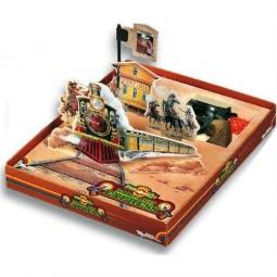 Купить Игровой набор Edison Giocattoli Target-Line Santa F
