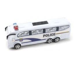 фото Машинка инерционная Shantou Gepai «Автобус. Полиция»