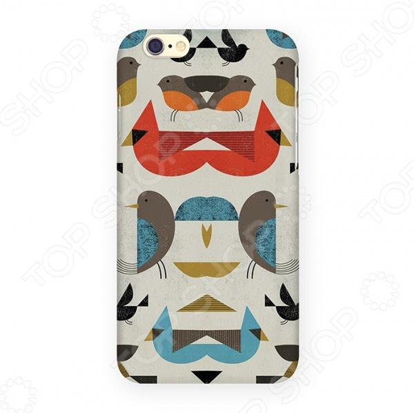 Чехол для iPhone 6 Mitya Veselkov «Птички-невелички»