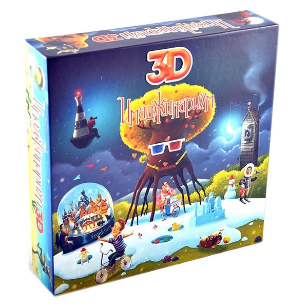 Игра настольная Stupid Casual «Имаджинариум 3D» настольная игра stupid casual имаджинариум пандора 11741