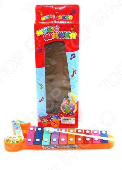 Игрушка музыкальная для ребенка Shantou Gepai «Ксилофон» 3057 smoby музыкальный инструмент ксилофон 211013
