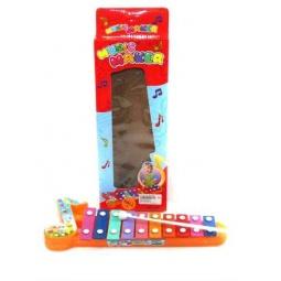 фото Игрушка музыкальная для ребенка Shantou Gepai «Ксилофон» 3057. В ассортименте