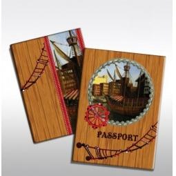фото Обложка для паспорта Феникс-Презент «На палубе»
