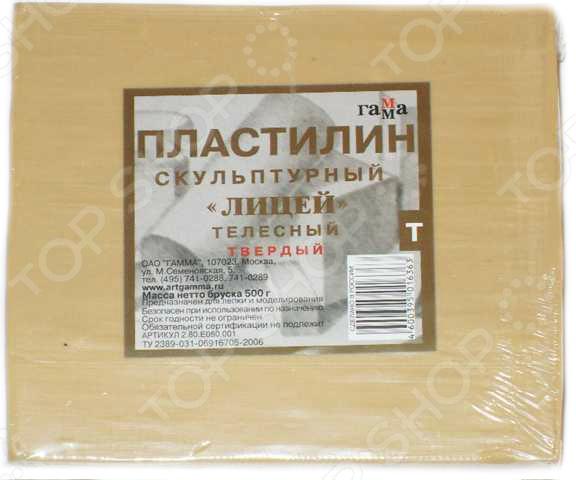 Пластилин скульптурный Гамма 2.80.Е050.001