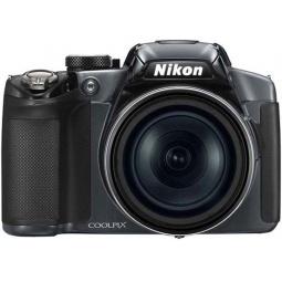 фото Фотокамера цифровая Nikon CoolPix P510. Цвет: серебристый