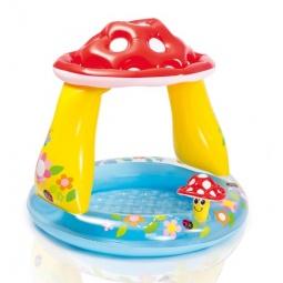 фото Бассейн надувной детский Intex «Мухомор»