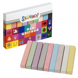 фото Набор мелков школьных цветных Silwerhof Emotions