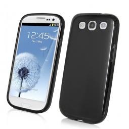 фото Чехол Muvit Minigel для Samsung S3 i9300. Цвет: черный