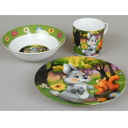 фото Набор посуды для детей Rosenberg 8768