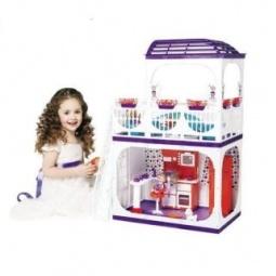 Купить Домик кукольный Огонек «Конфетти» 01539