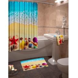 Купить Коллекция для ванной комнаты «Морской бриз»