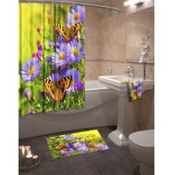 Купить Коллекция для ванной комнаты «Лужайка»