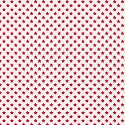 фото Отрез ткани Tilda Звезды. Цвет: красный