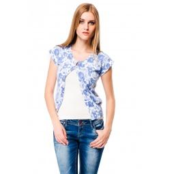фото Жакет Mondigo 9782. Цвет: голубой. Размер одежды: 46