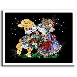 фото Мозаика из пайеток Волшебная мастерская «Свидание»