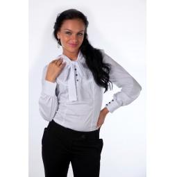 фото Блузка Mondigo 9640. Цвет: белый. Размер одежды: 46