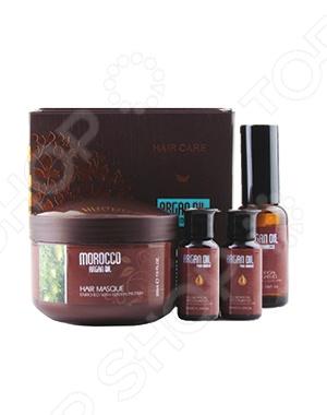 Набор: маска для волос Caviar и масло арганы Morocco Argan Oil