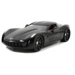 фото Модель автомобиля 1:24 Jada Toys 2009 Corvette Stingray. Цвет: черный