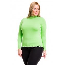 фото Водолазка Mondigo XL 1473. Цвет: салатовый. Размер одежды: 52