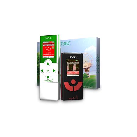 Купить Набор для эко-контроля SOEKS: экотестер и детектор электромагнитного излучения