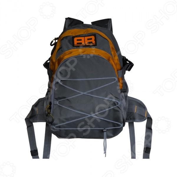 Рюкзак походный Adrenalin Republic Backpack TwinТуристические рюкзаки и аксессуары<br>Рюкзак походный Adrenalin Republic Backpack Twin удобное и практичное снаряжение, которое подходит для туристических походов, отдыха, охоты или для рыбалки. Он отличается большой функциональностью, практичностью и удобством использования. Продуманная подвесная система рюкзака не стесняет маневренность, а при помощи регулировки длины плечевых лямок, можно подогнать рюкзак под свои анатомические особенности. Высококачественные материалы изготовления обеспечивают надежность и позволяют переносить груз, общим объемом до 35 литров, чего вполне достаточно для того, чтобы взять с собой все необходимое. Особенность данной модели заключается в наличии переднего обвеса объемом 10 литров с множеством дополнительных карманов. Рюкзак можно использовать в комплекте с обвесом или каждую часть отдельно. Продуманное расположение отделений внутри и удобные карманы снаружи способствуют наиболее рациональному распределению груза, обеспечивая, тем самым, снижение нагрузки на спину переносящего рюкзак человека. Может быть использован не только в туристических целях, но и в повседневной жизни.<br>